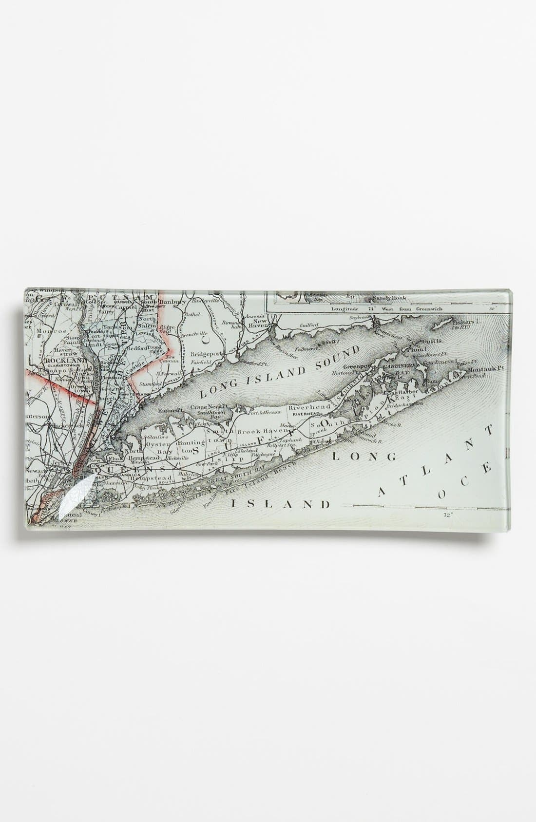 Main Image - Ben's Garden 'Long Island Antique Map' Trinket Tray