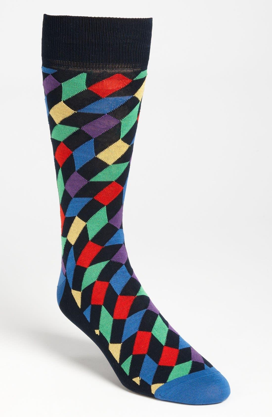 Alternate Image 1 Selected - Bugatchi Uomo Socks