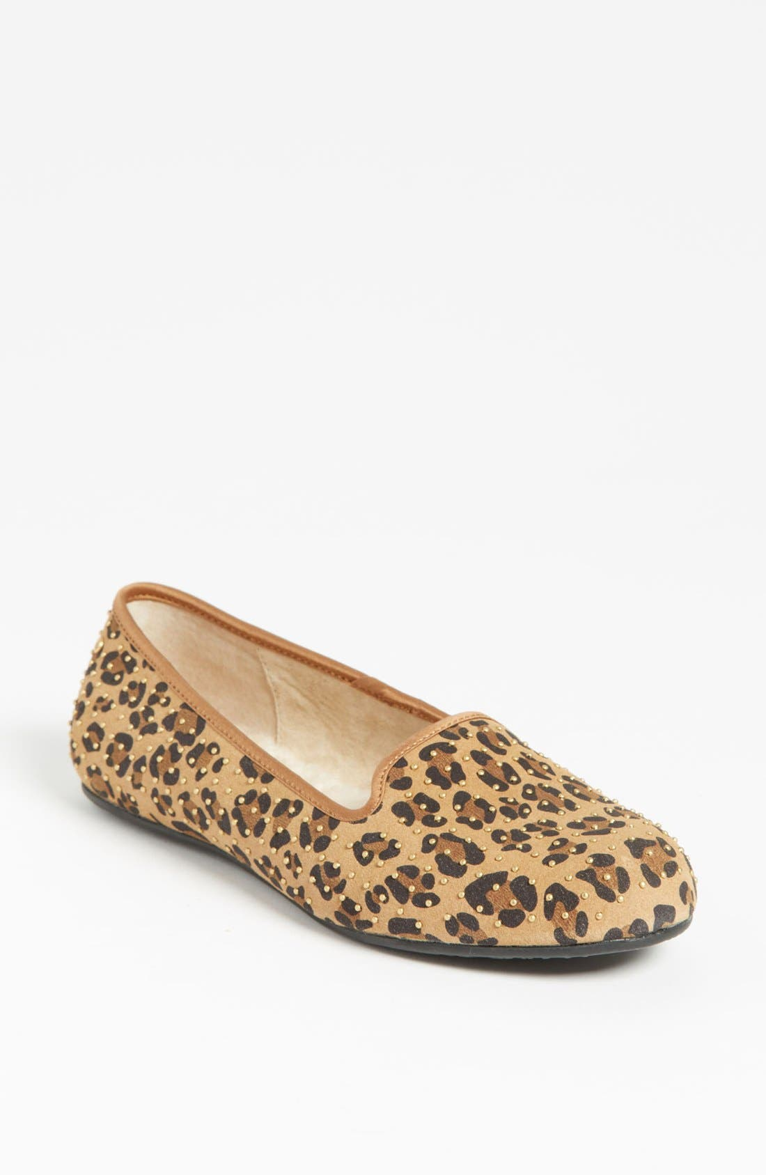 Alternate Image 1 Selected - UGG® Australia 'Alloway' Studded Flat (Exclusive Color)
