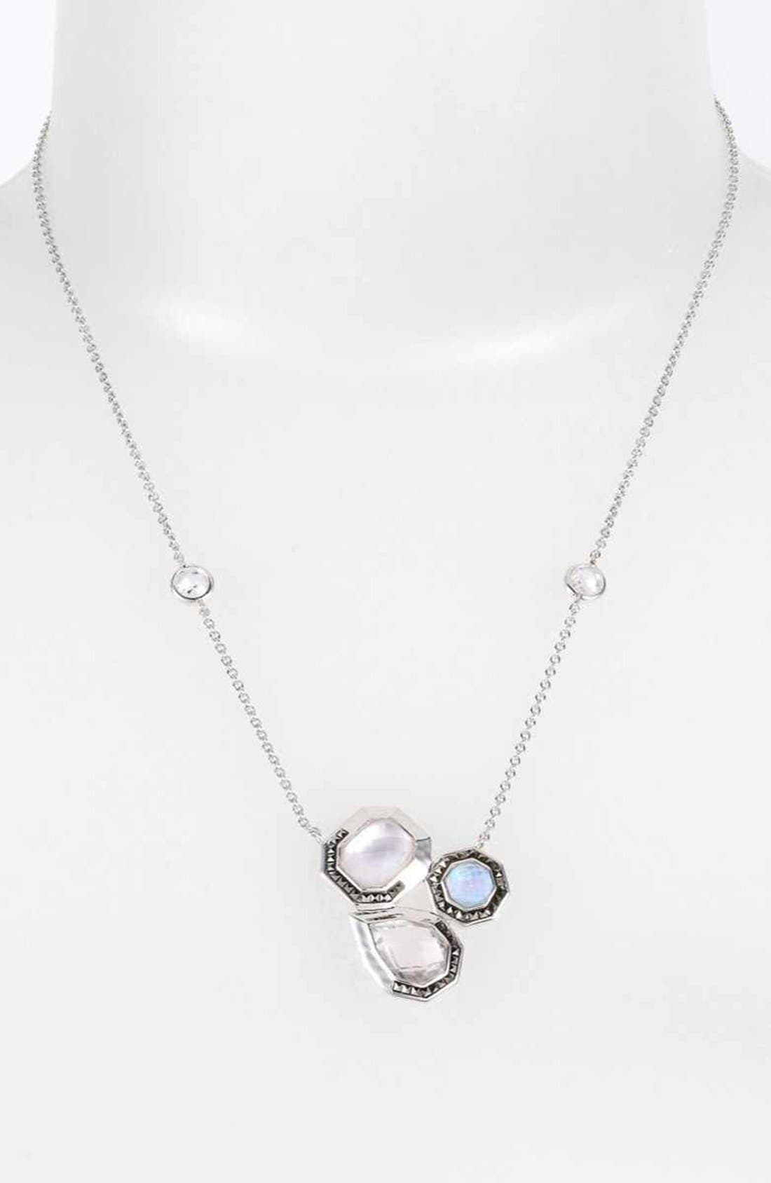 Alternate Image 1 Selected - Judith Jack 'Waterfall' Cluster Pendant Necklace