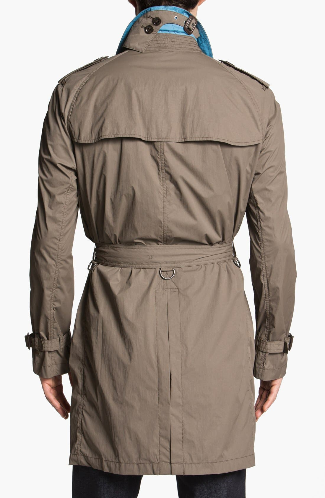 Alternate Image 2  - Burberry Brit 'Coombes' Trench Coat