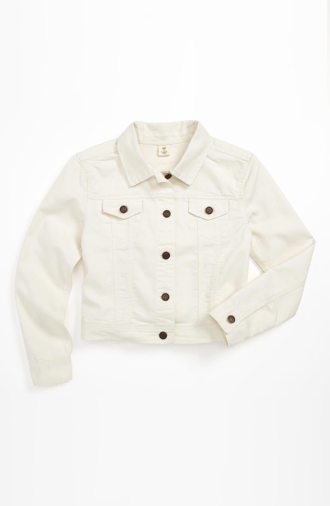Alternate Image 1 Selected - Tucker + Tate Denim Jacket (Little Girls & Big Girls)