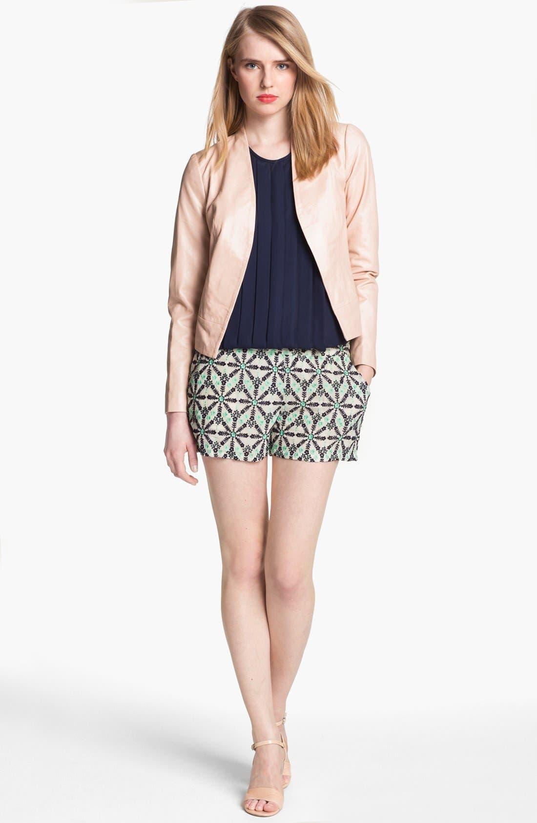 Alternate Image 2  - Joie 'Venette' Crop Leather Jacket