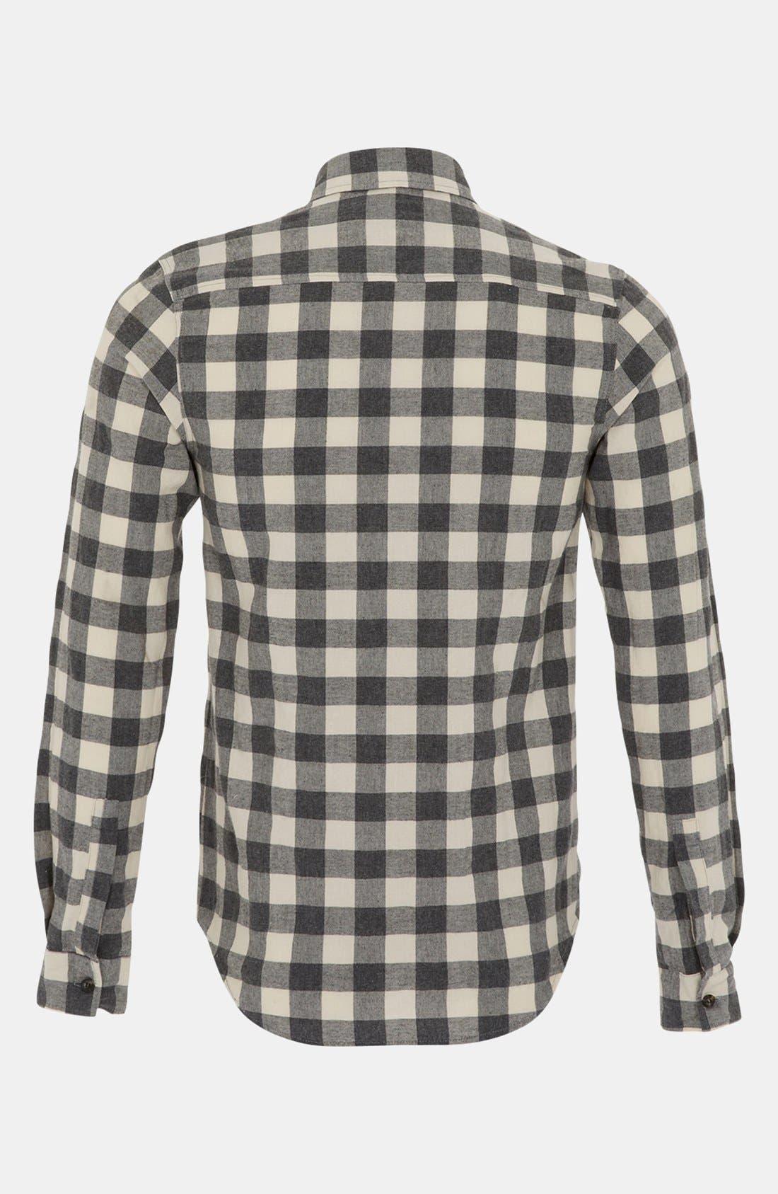 Alternate Image 2  - Topman Gingham Shirt