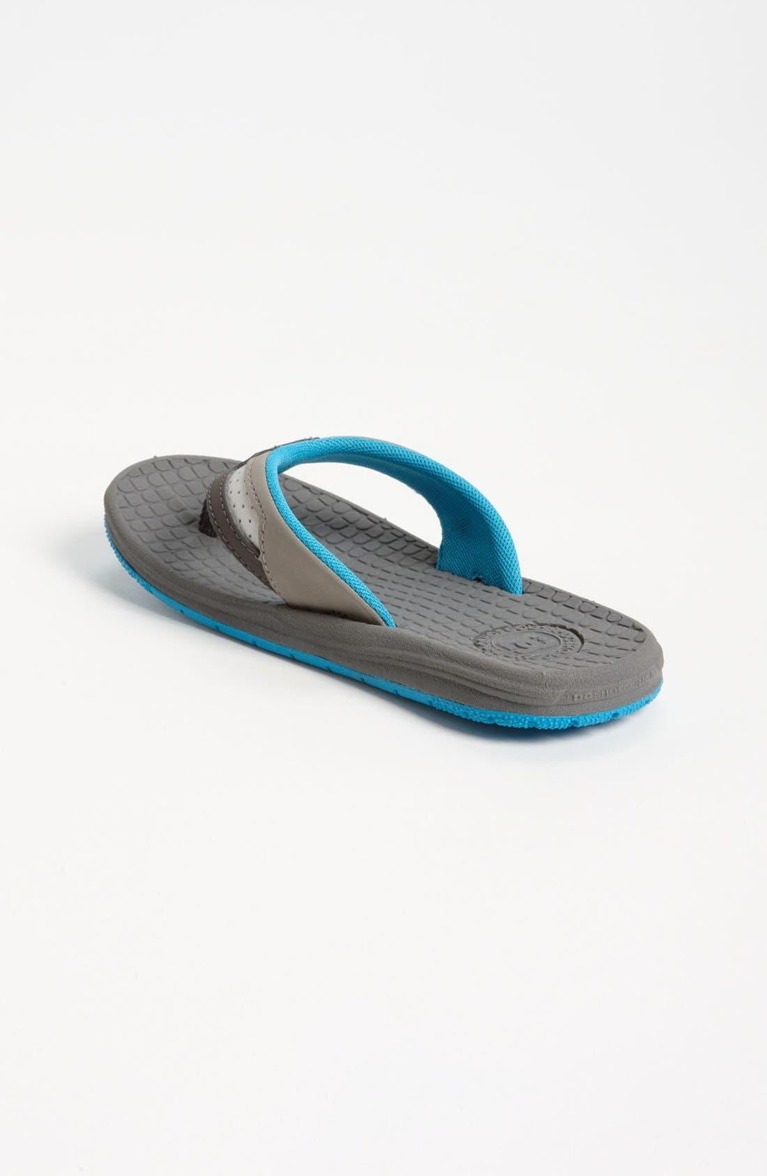 Alternate Image 2  - DC Shoes 'Cabo' Flip Flop (Toddler, Little Kid & Big Kid)