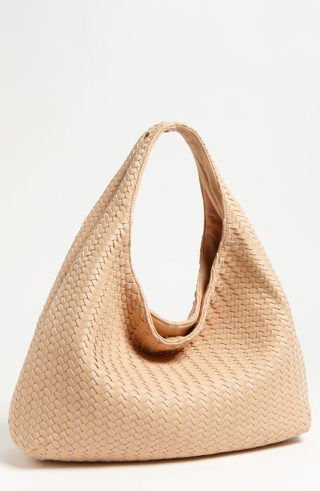 Main Image - Deux Lux 'Greenwich' Studded Faux Leather Hobo