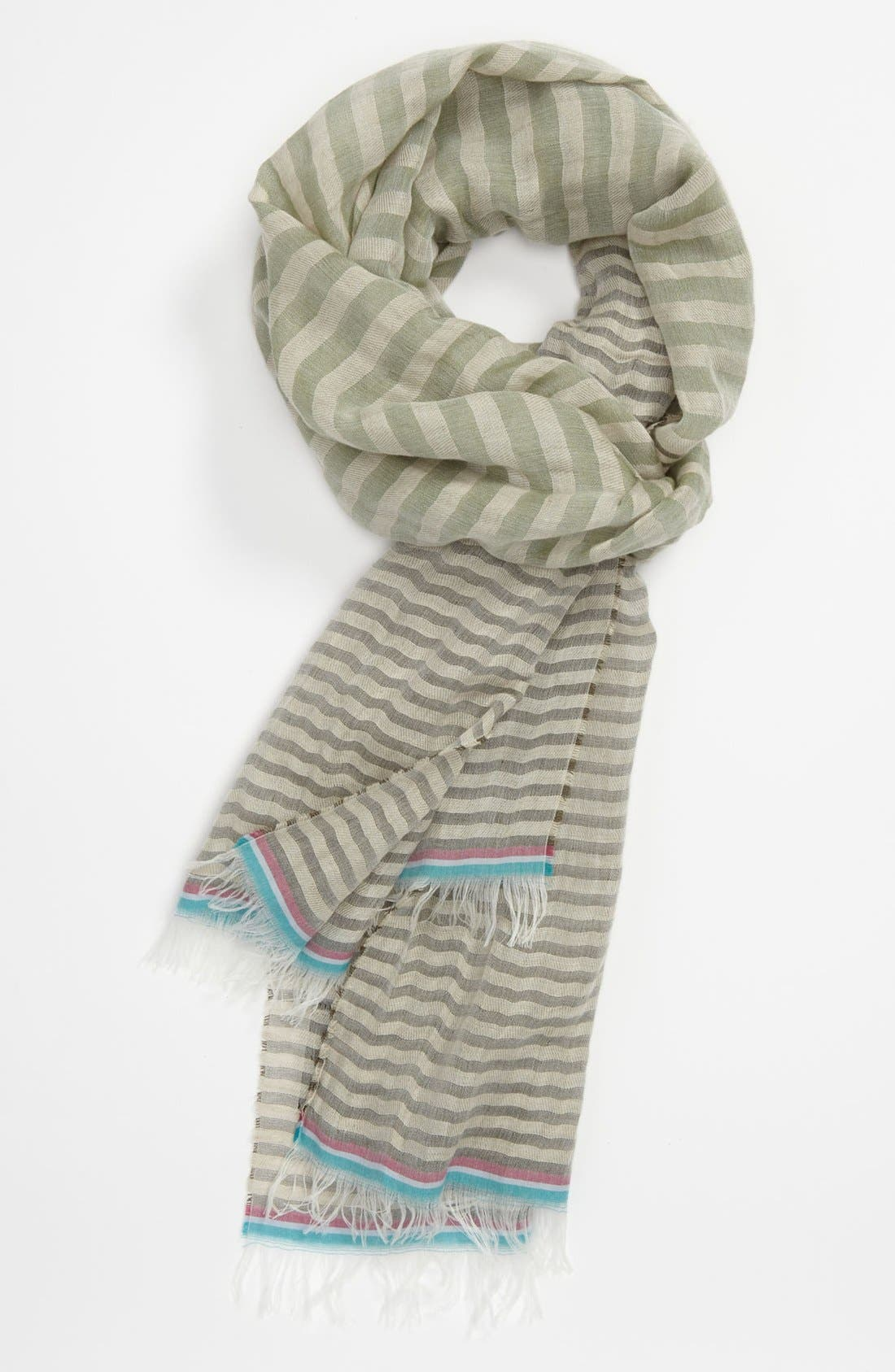 Alternate Image 1 Selected - Paul Smith Accessories Stripe Scarf