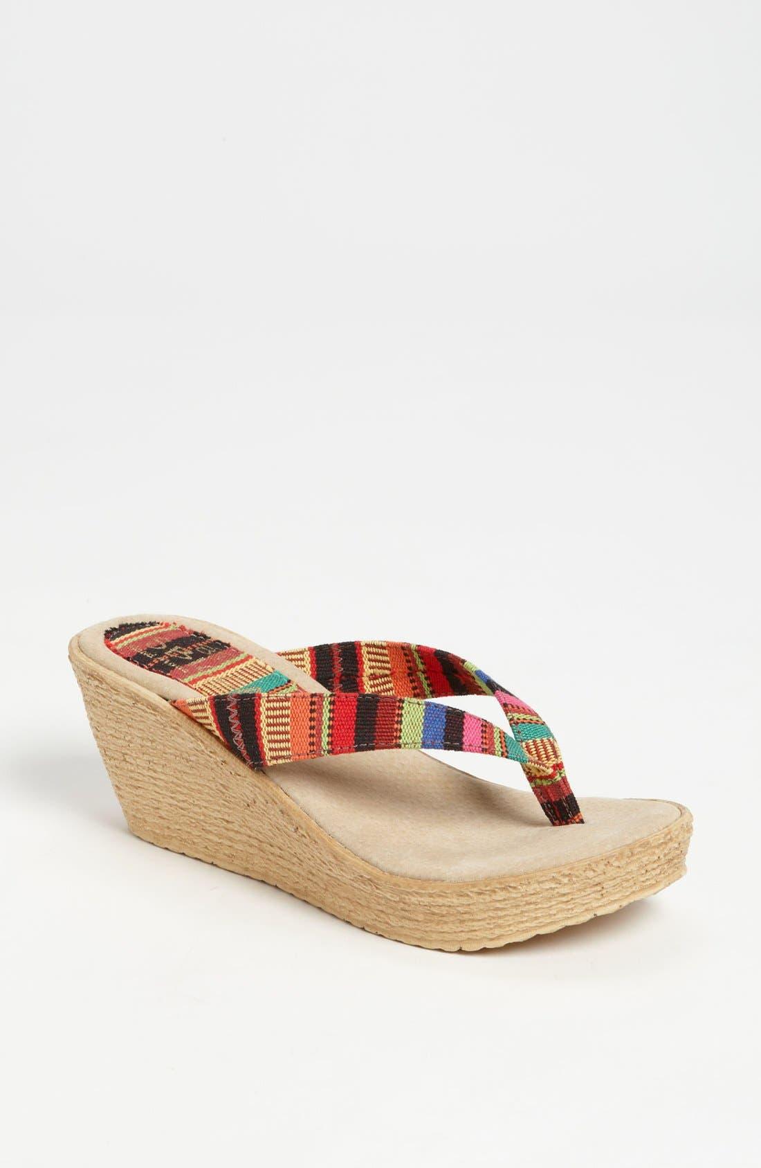 Alternate Image 1 Selected - Sbicca 'Andes' Wedge Sandal