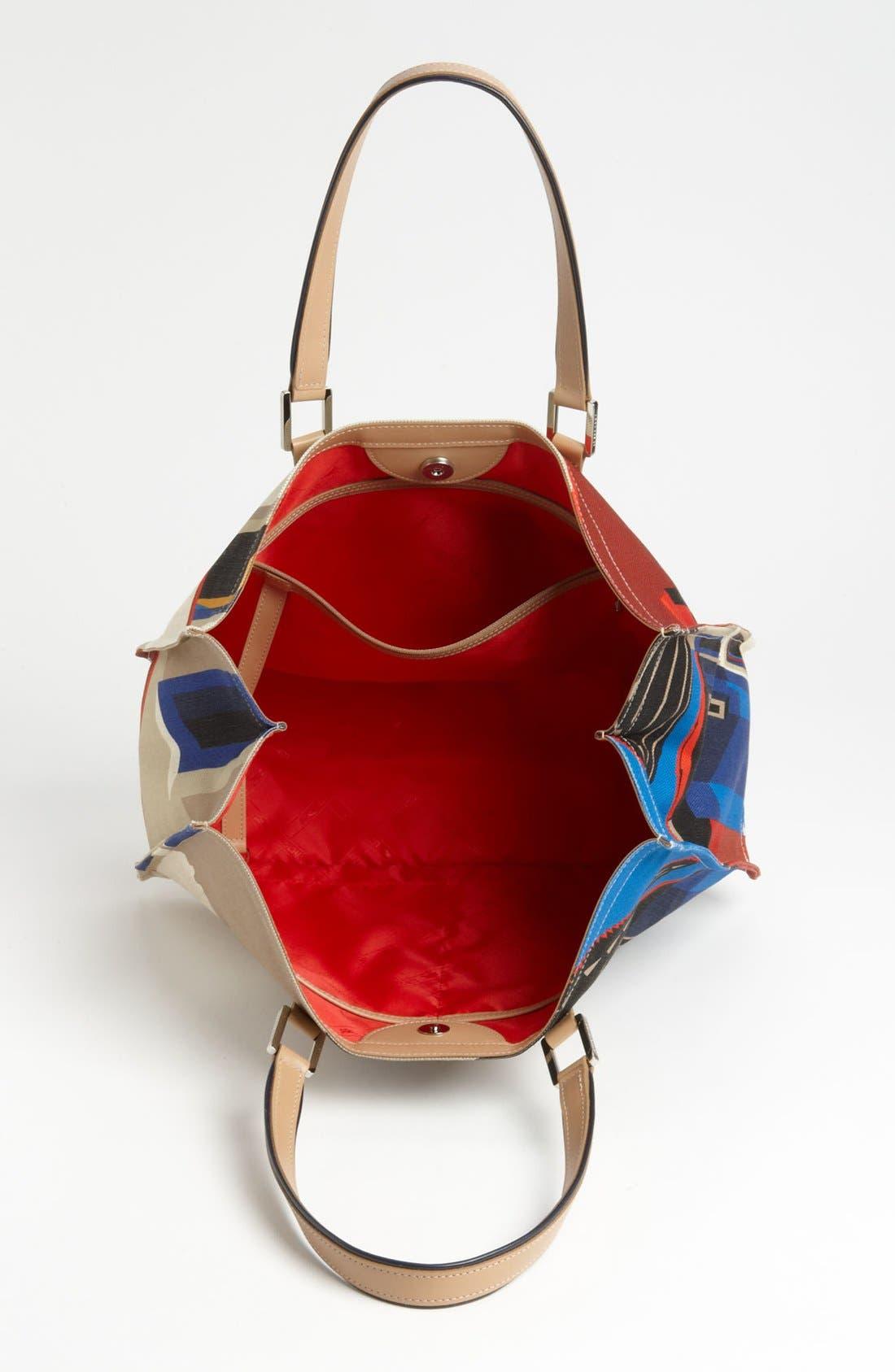 Alternate Image 3  - Longchamp 'Finca Luisa - Medium' Canvas Tote