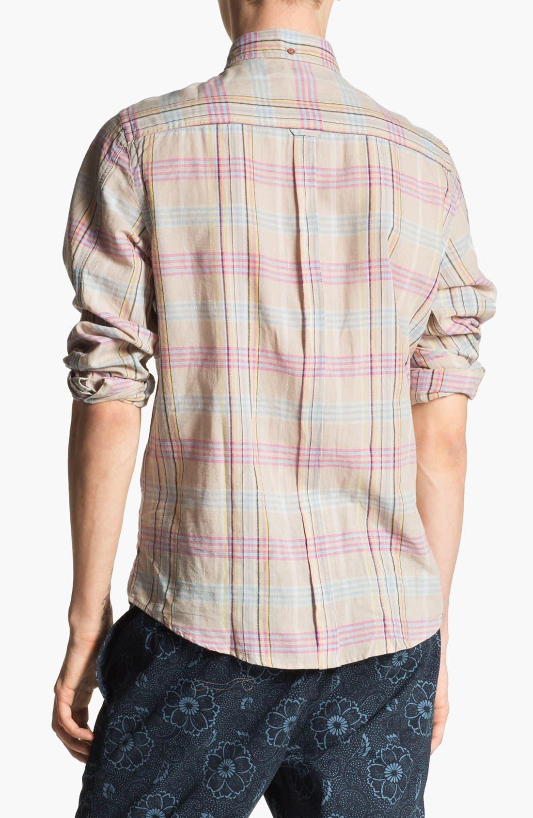Alternate Image 3  - Ben Sherman Plaid Woven Shirt