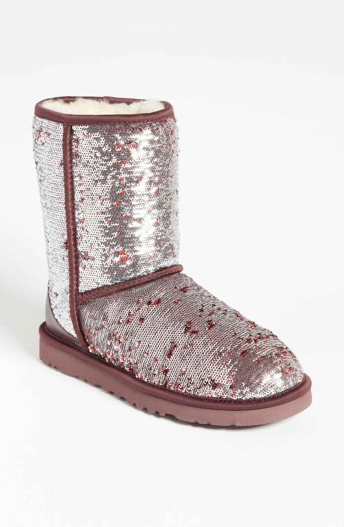 Main Image - UGG® Australia 'Classic Short Sparkle' Boot (Women)