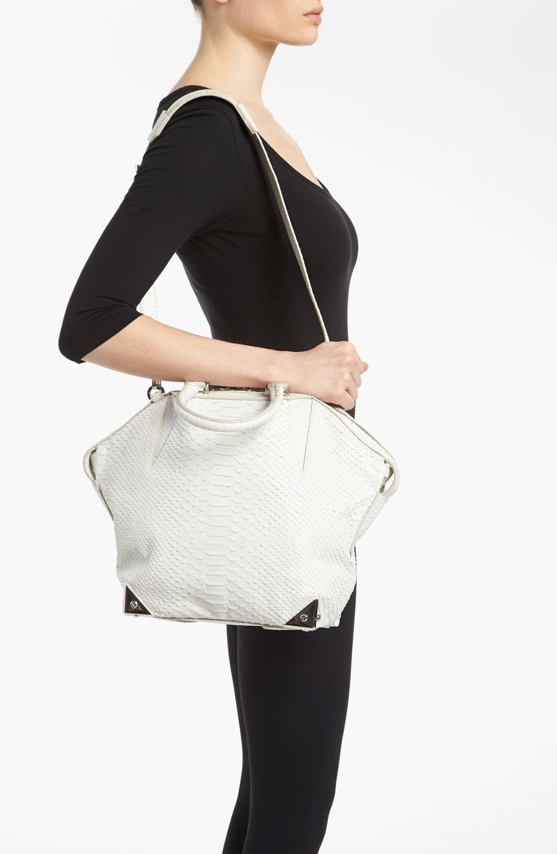 Alternate Image 2  - Alexander Wang 'Emile - Small Prisma' Python Embossed Leather Tote