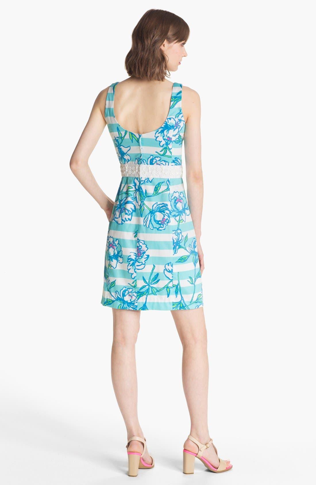 Alternate Image 2  - Lilly Pulitzer® 'Serena' Mix Print Sheath Dress