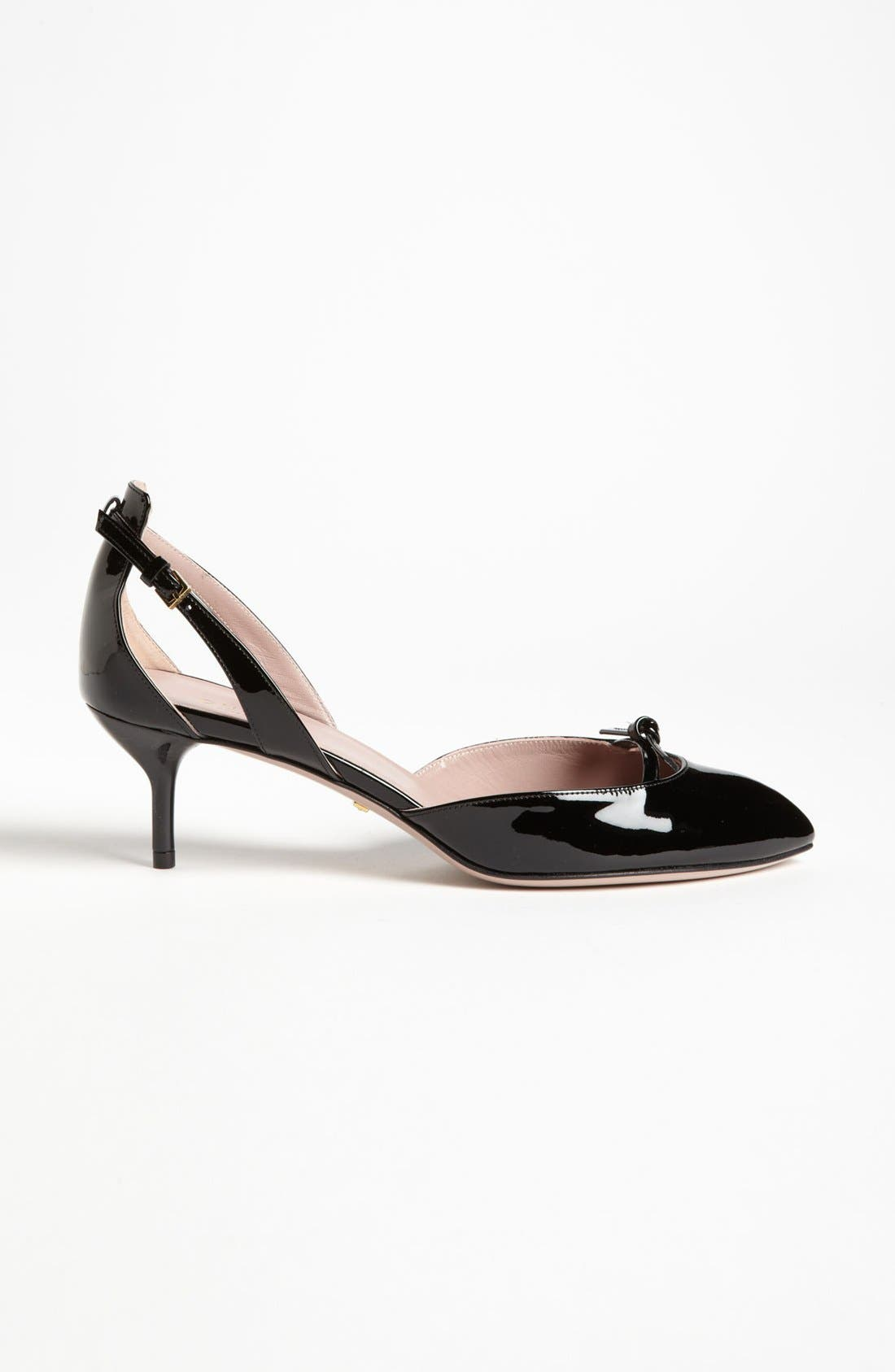 Alternate Image 4  - Gucci 'Beverly' d'Orsay Pump