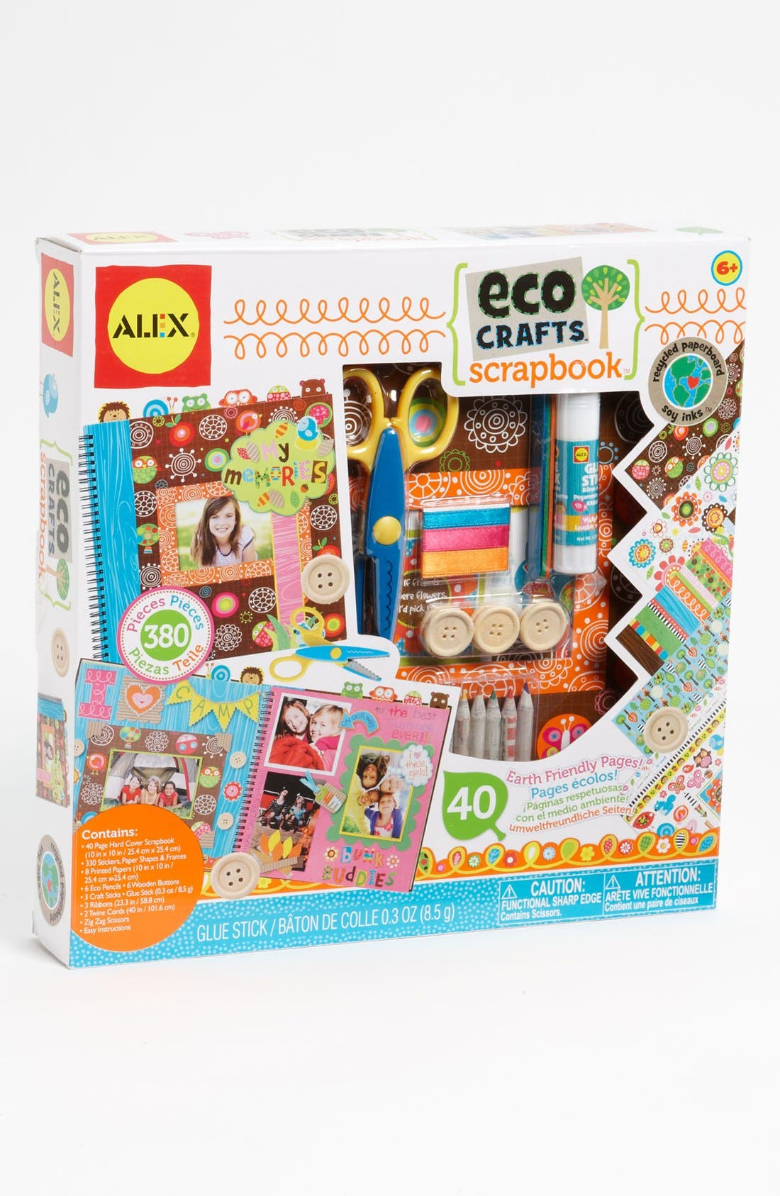 Alternate Image 1 Selected - Alex® Toys 'Eco Crafts' Scrapbook Kit