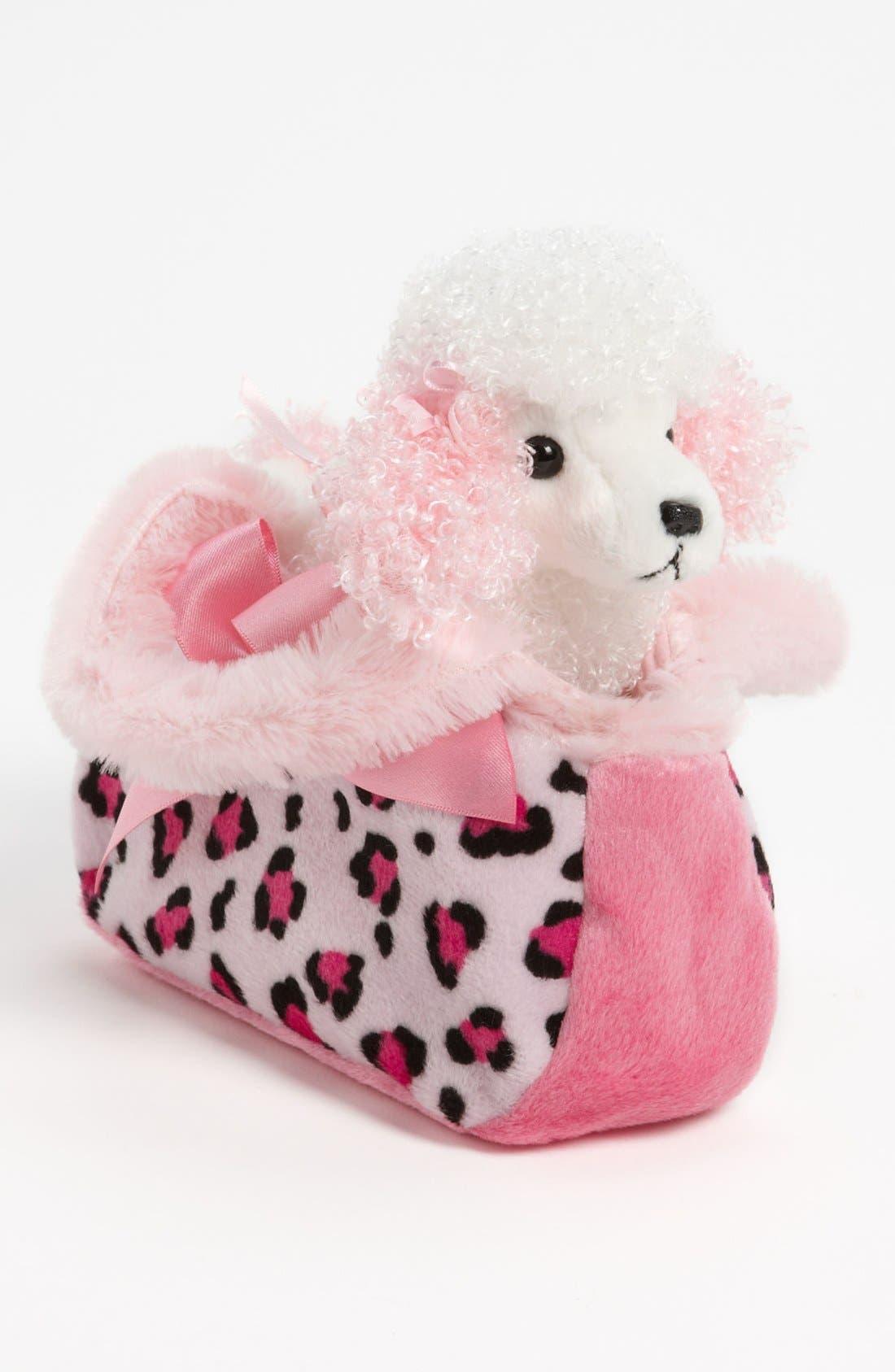 Main Image - Aurora World Toys 'Fancy Pals™ - Pretty Poodle' Puppy Purse