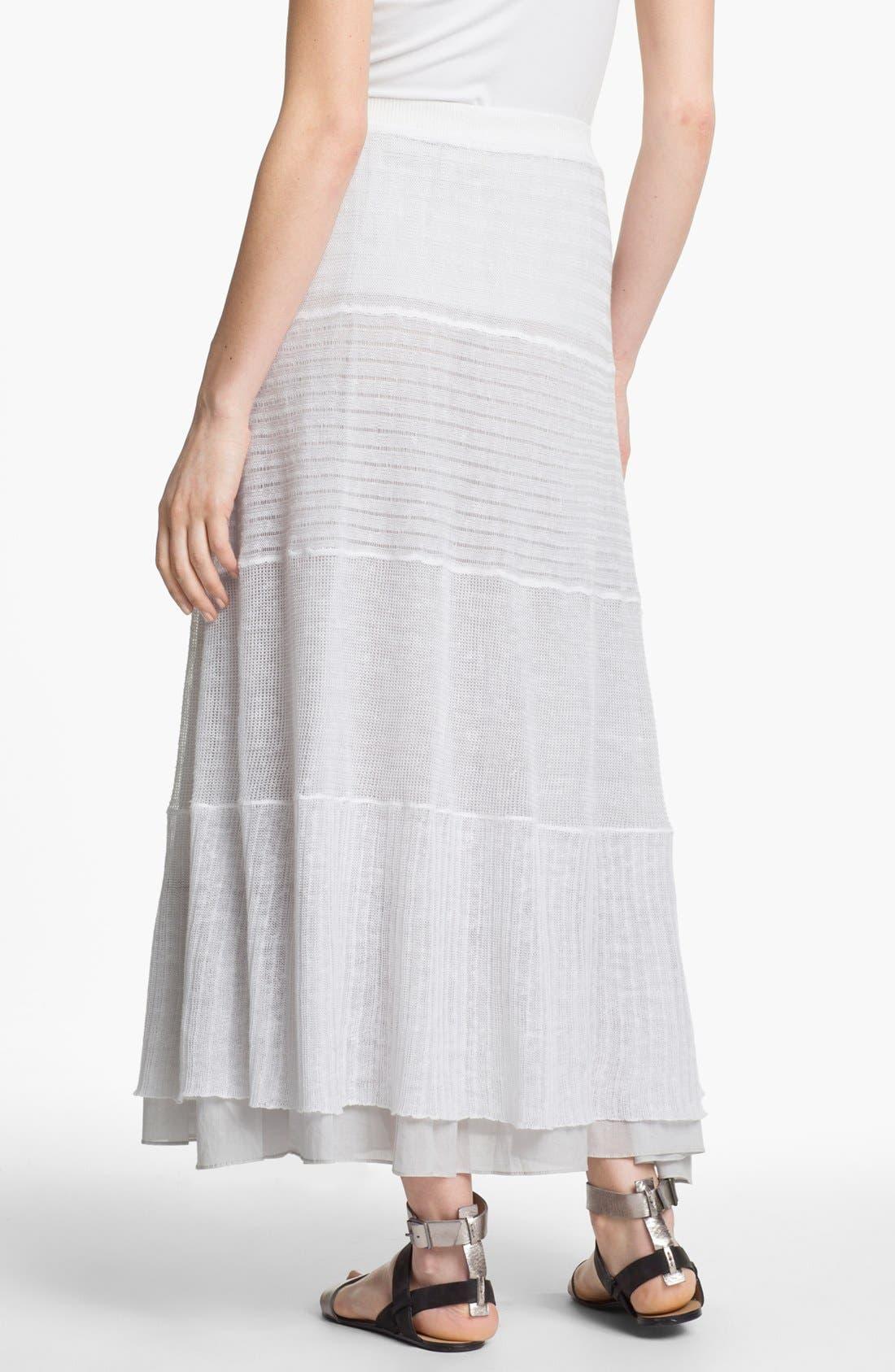 Alternate Image 2  - Eileen Fisher Tiered Maxi Skirt