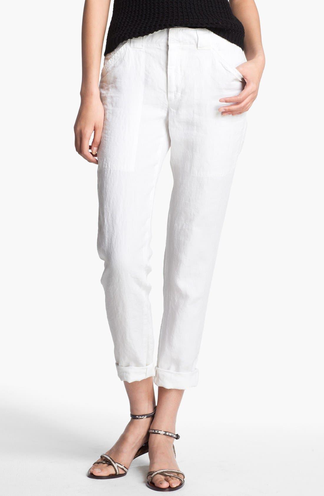 Alternate Image 1 Selected - A.L.C. 'Sandor' Linen Pants