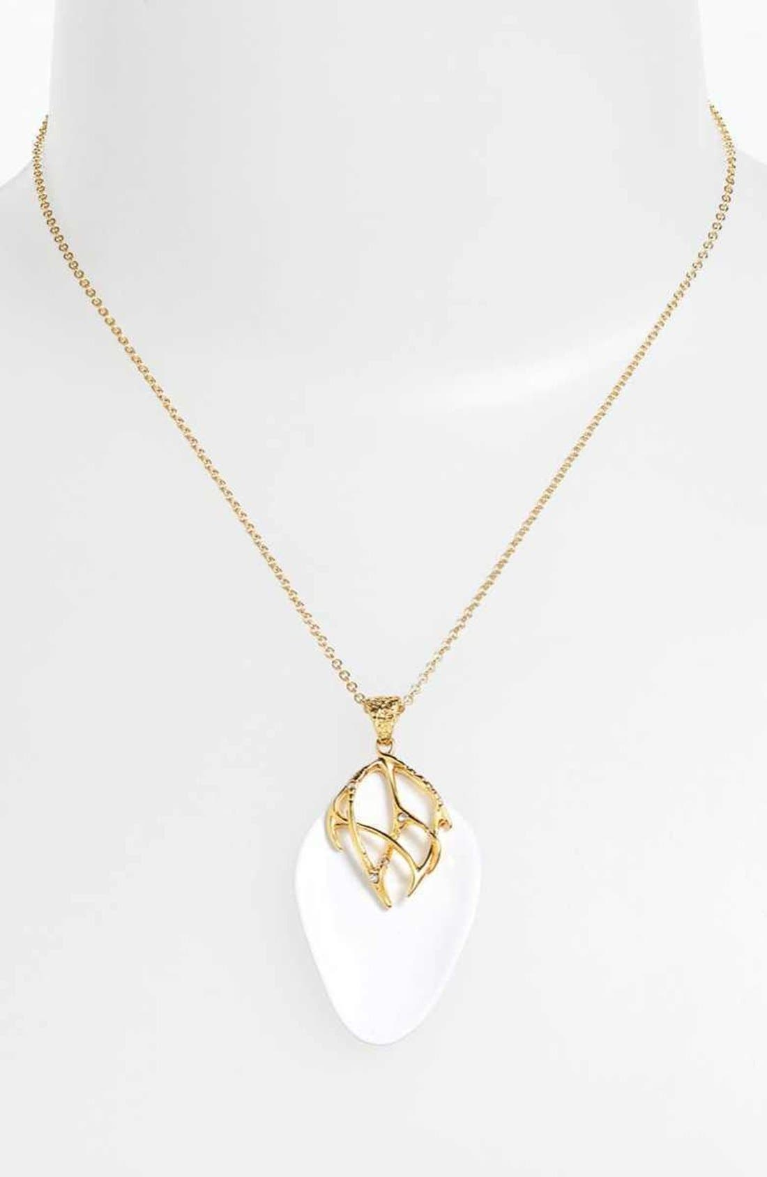 Alternate Image 1 Selected - Alexis Bittar 'Miss Havisham - Liquid Gold' Pendant Necklace