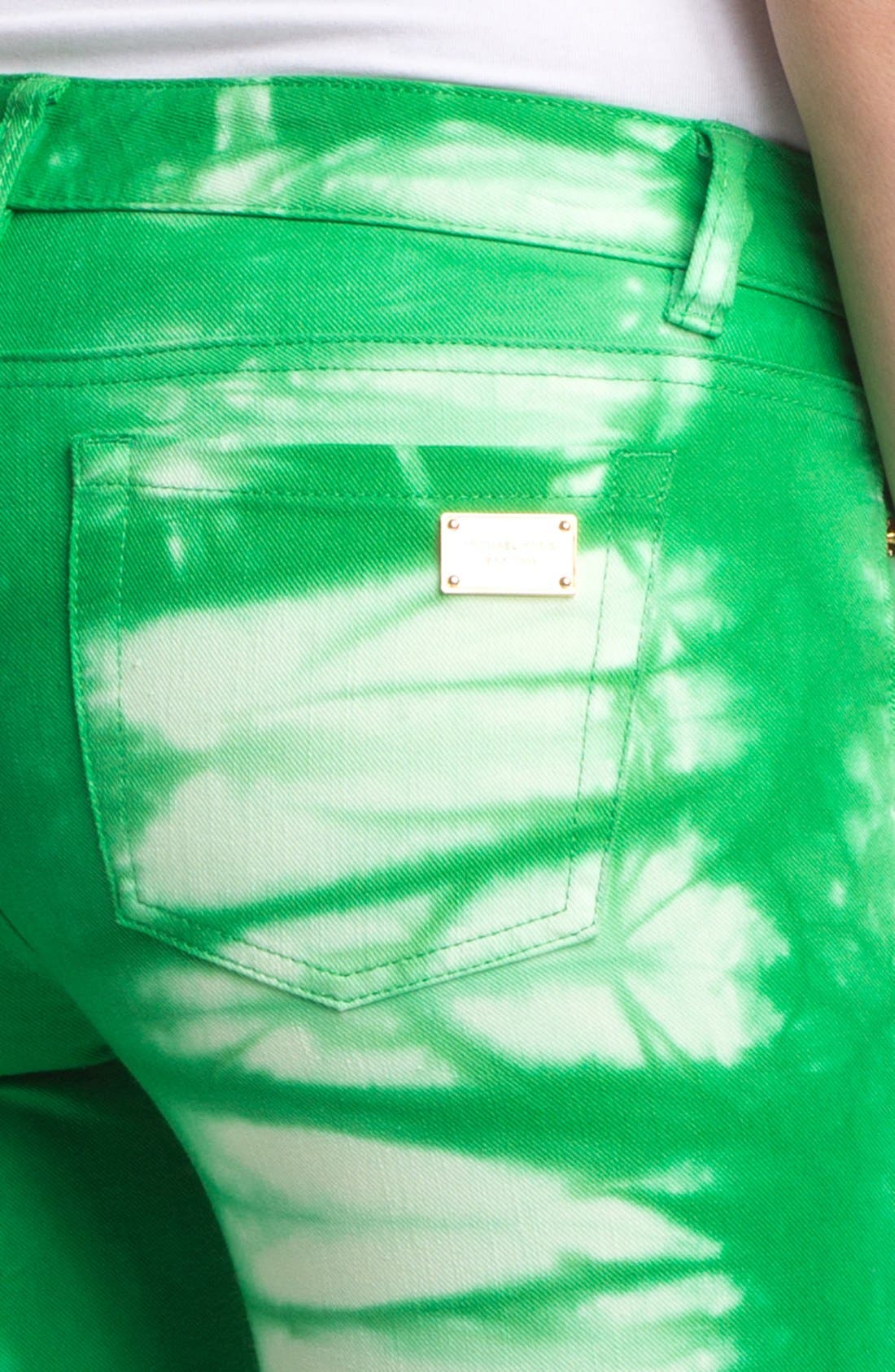 Alternate Image 3  - MICHAEL Michael Kors Tie Dye Jeans