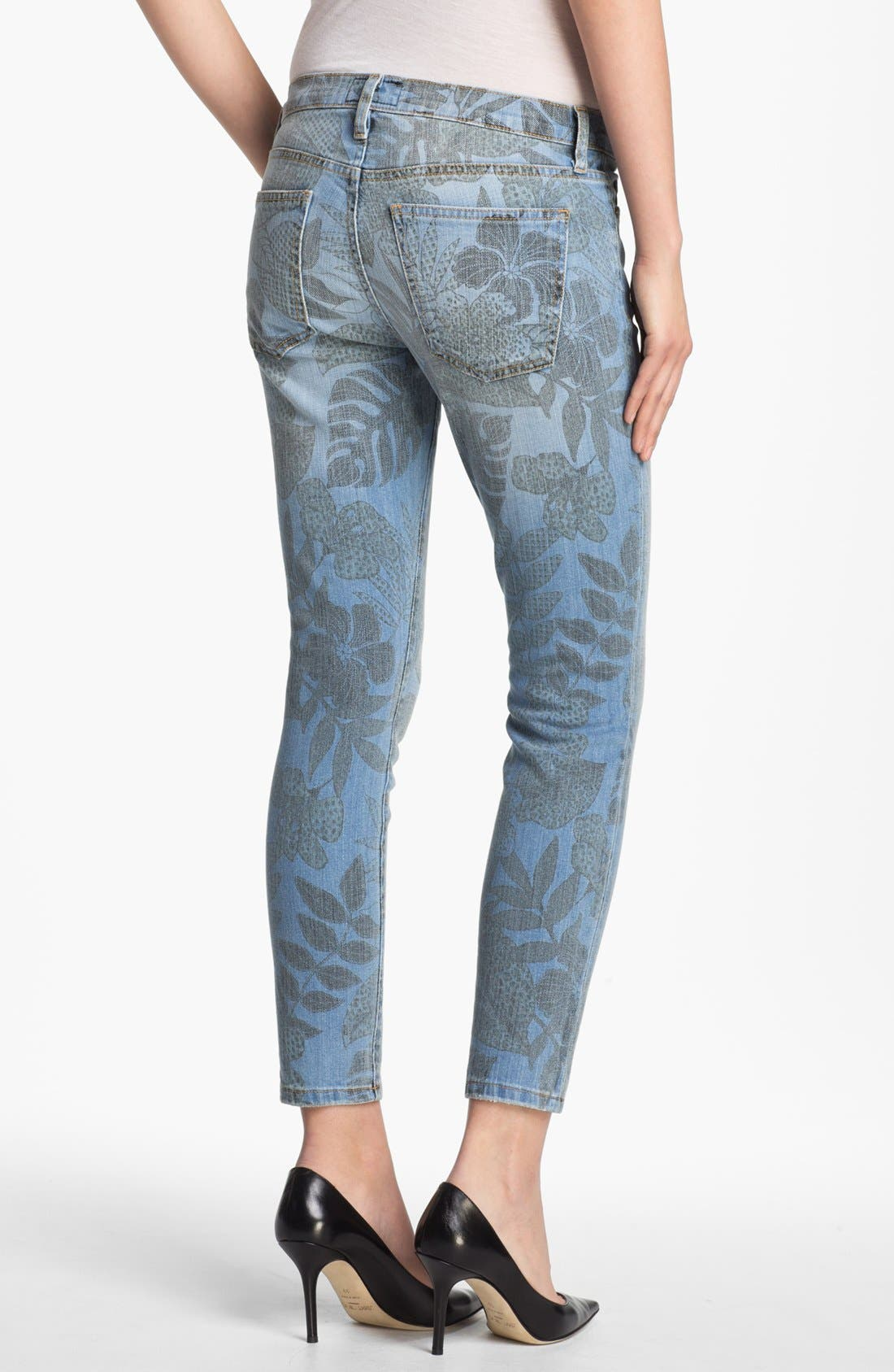 Alternate Image 2  - Current/Elliott 'The Stiletto' Jungle Print Stretch Jeans