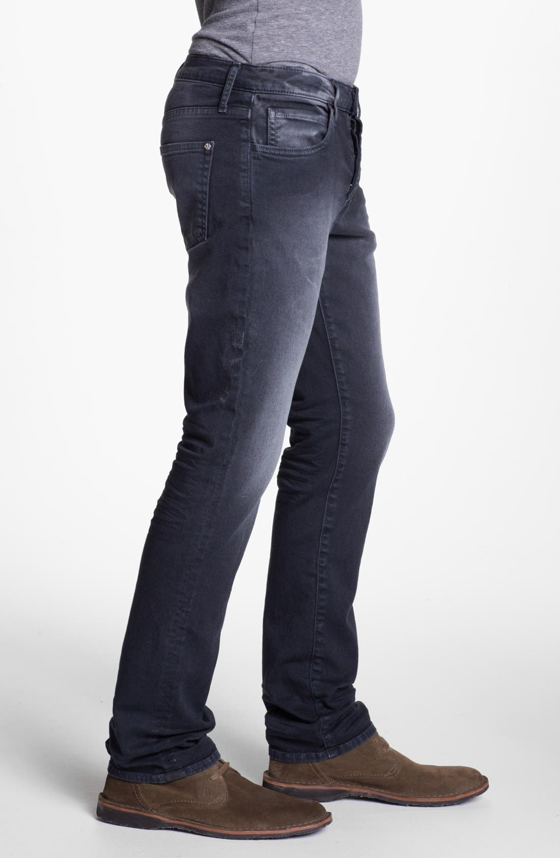 Alternate Image 3  - Koral 'Los Angeles' Slim Leg Jeans (Worn Black)