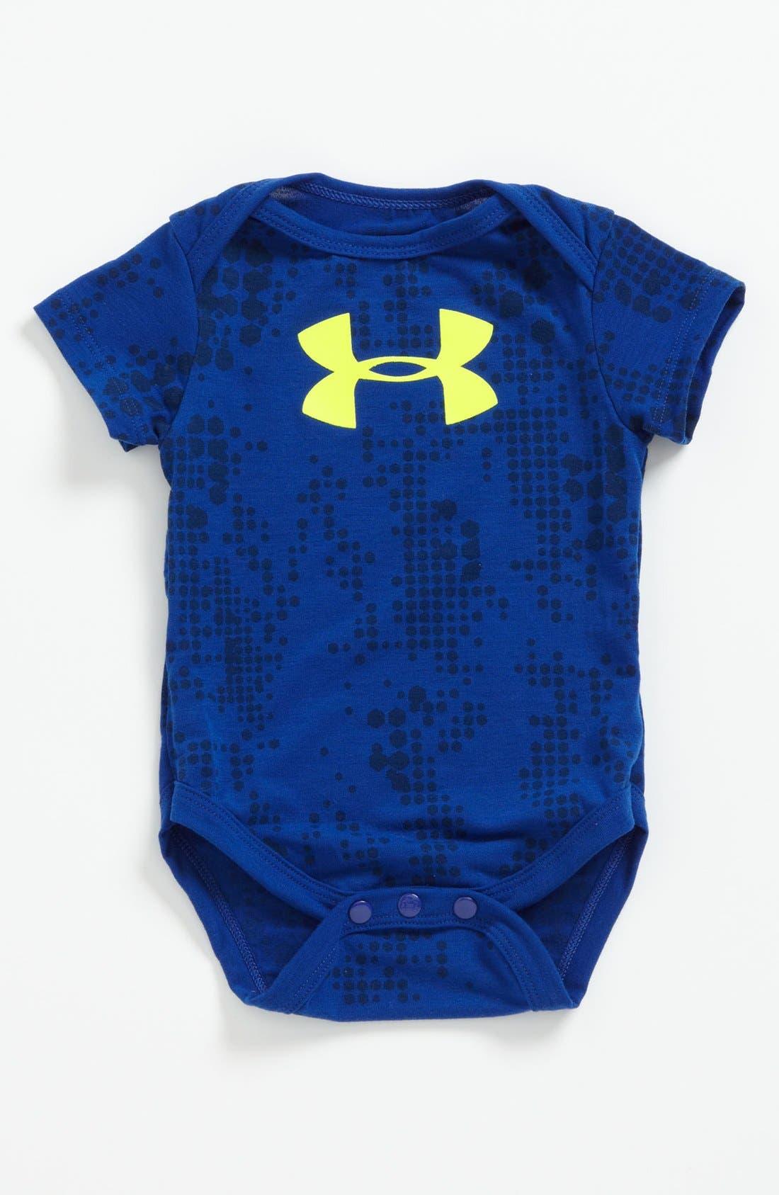 Main Image - Under Armour 'Camo Frog' Bodysuit (Baby)