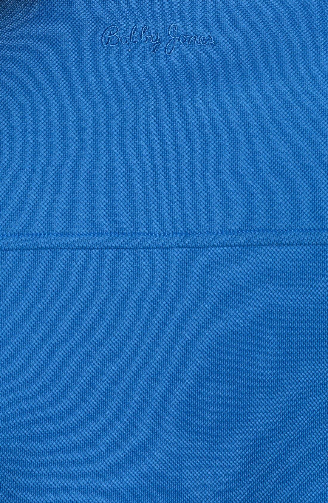 Alternate Image 3  - Bobby Jones Quarter Zip Piqué Vest