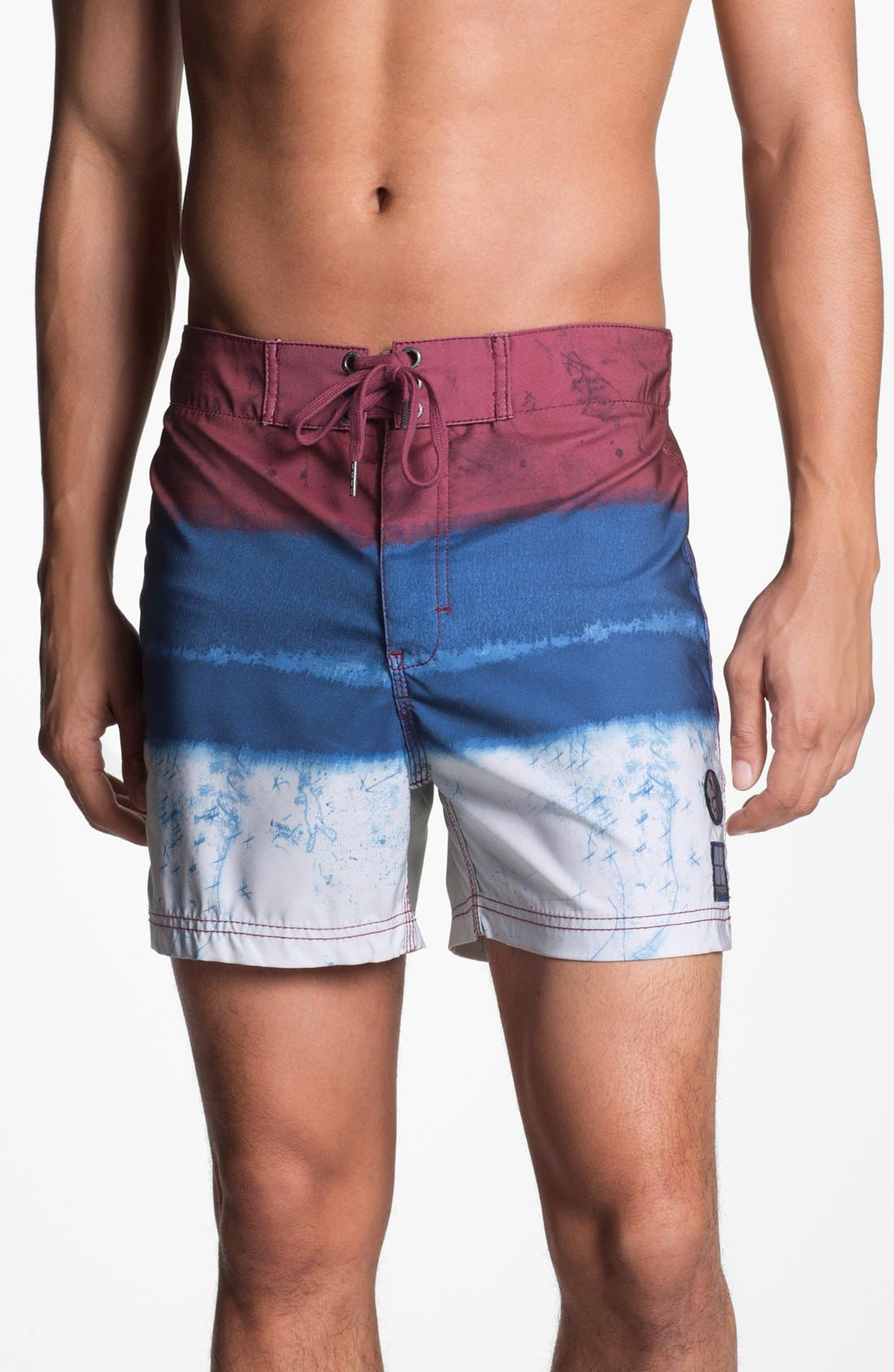 Main Image - Insight 'Le Blur - Bunker' Board Shorts