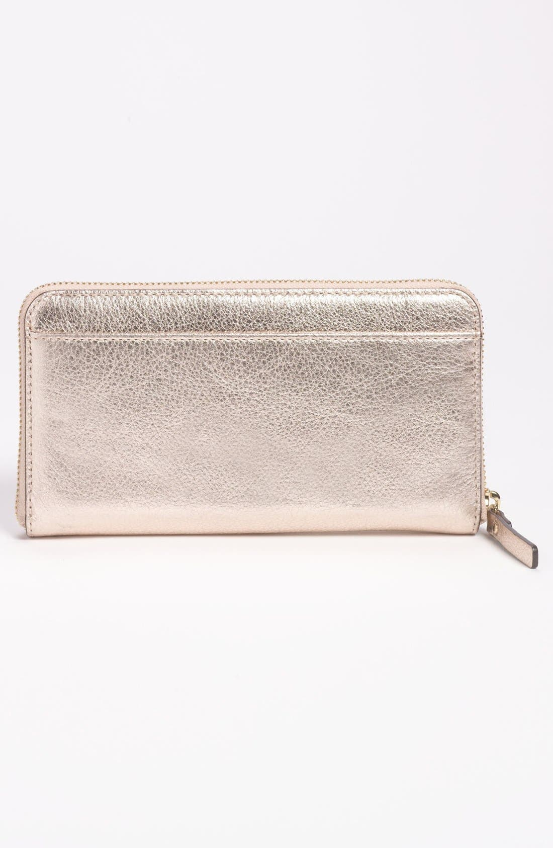 Alternate Image 3  - kate spade new york 'hancock park - lacey' leather zip wallet