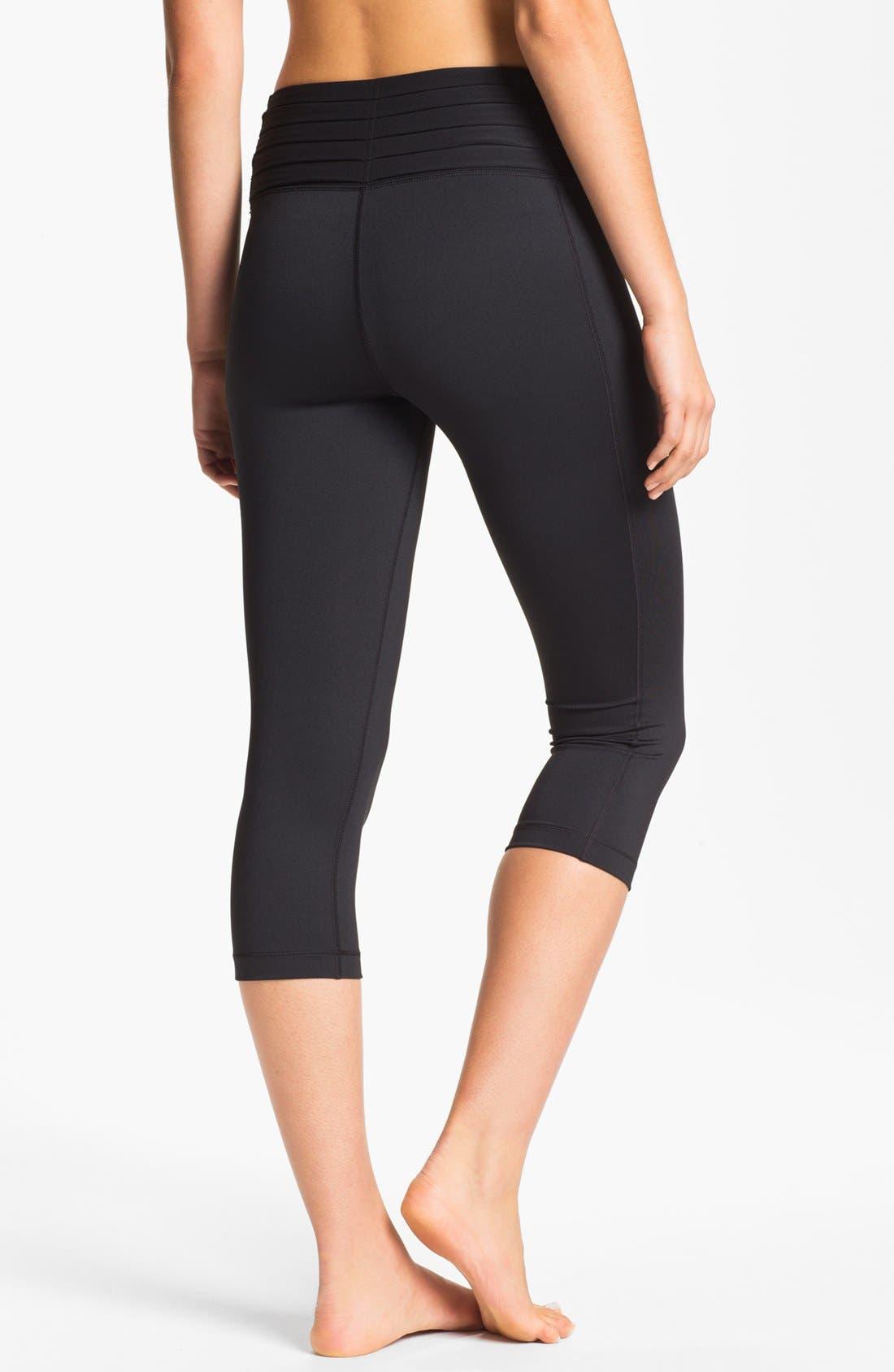 Alternate Image 2  - Nike 'Gym Om' Capri Leggings