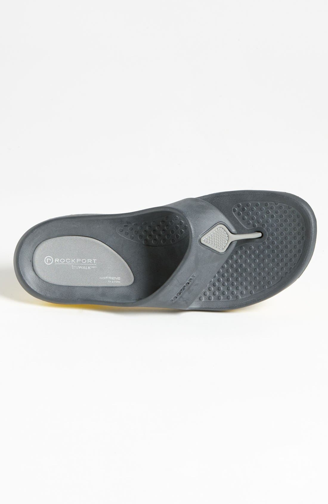 Alternate Image 3  - Rockport 'TruWalk - Zero' Flip Flop (Men)