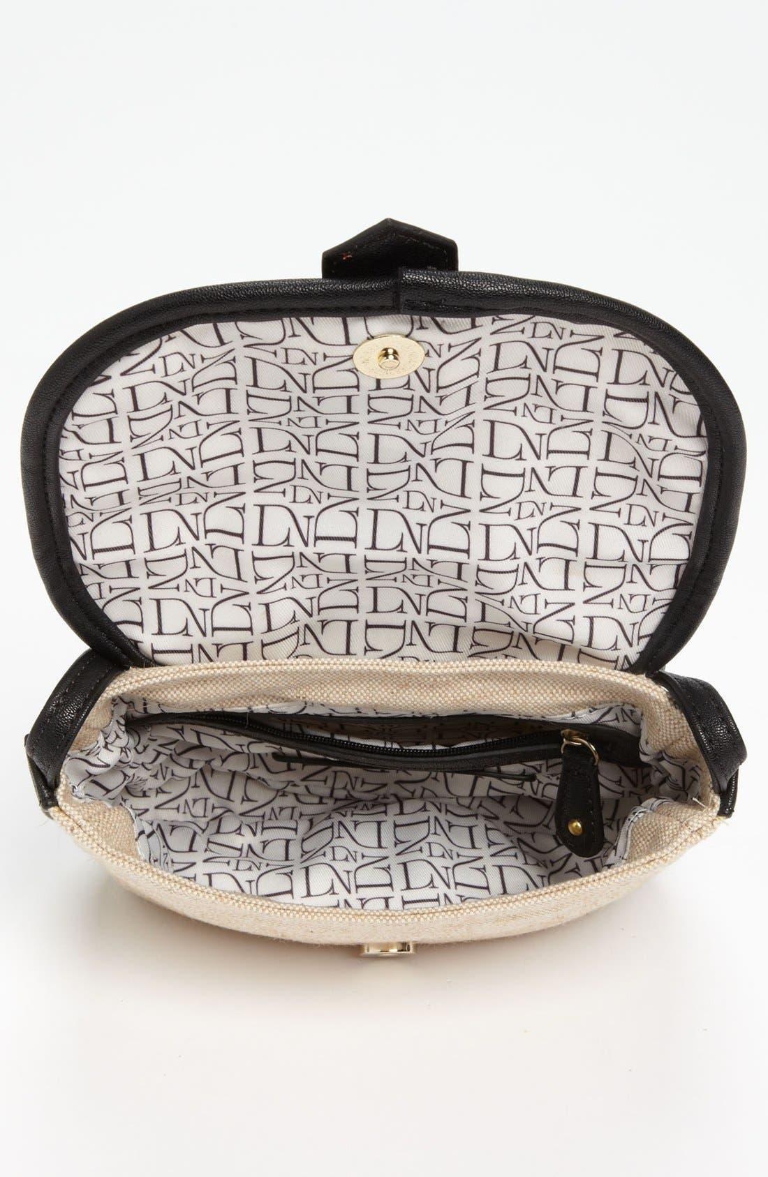 Alternate Image 3  - Danielle Nicole 'Nola' Canvas Crossbody Bag