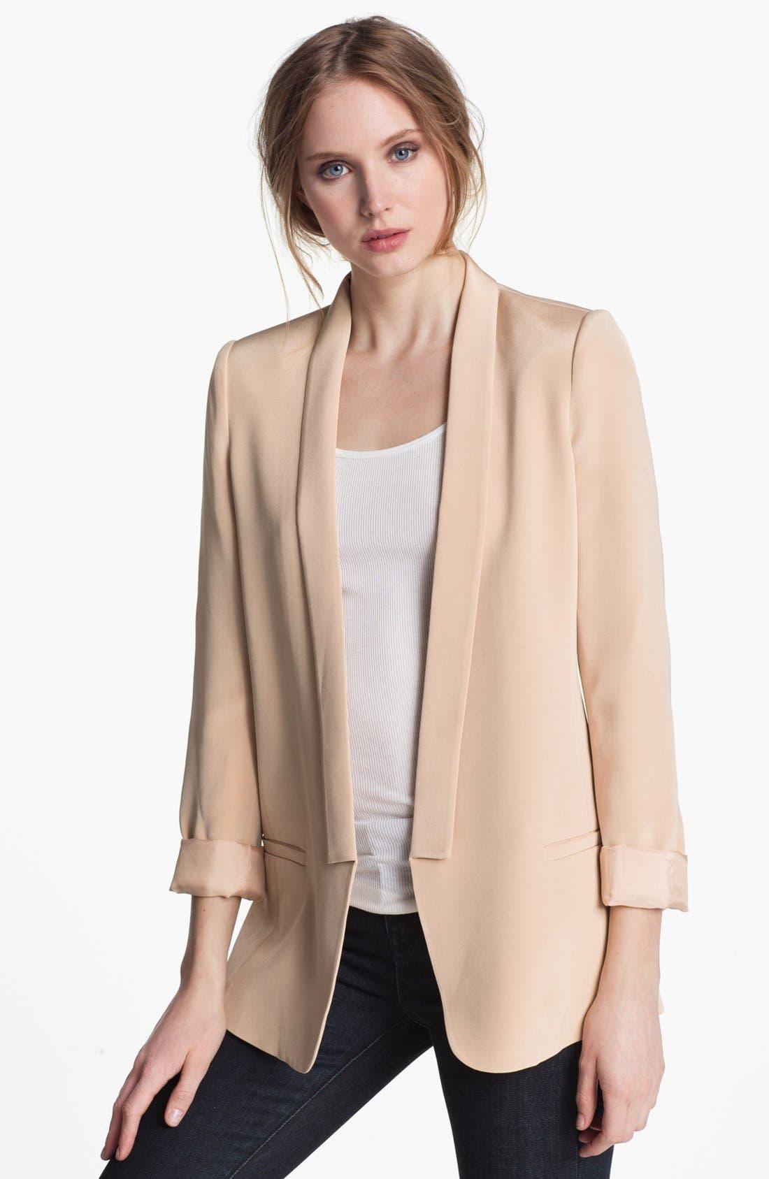 Alternate Image 1 Selected - Truth and Pride Silk Blazer