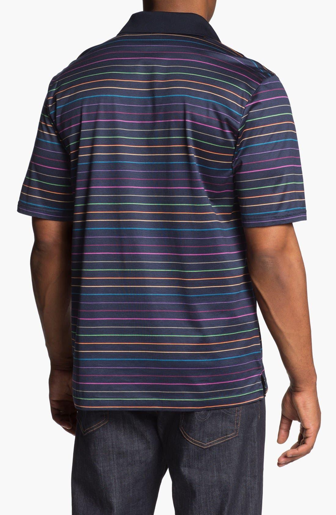 Alternate Image 2  - BUGATCHI Mercerized Cotton Polo