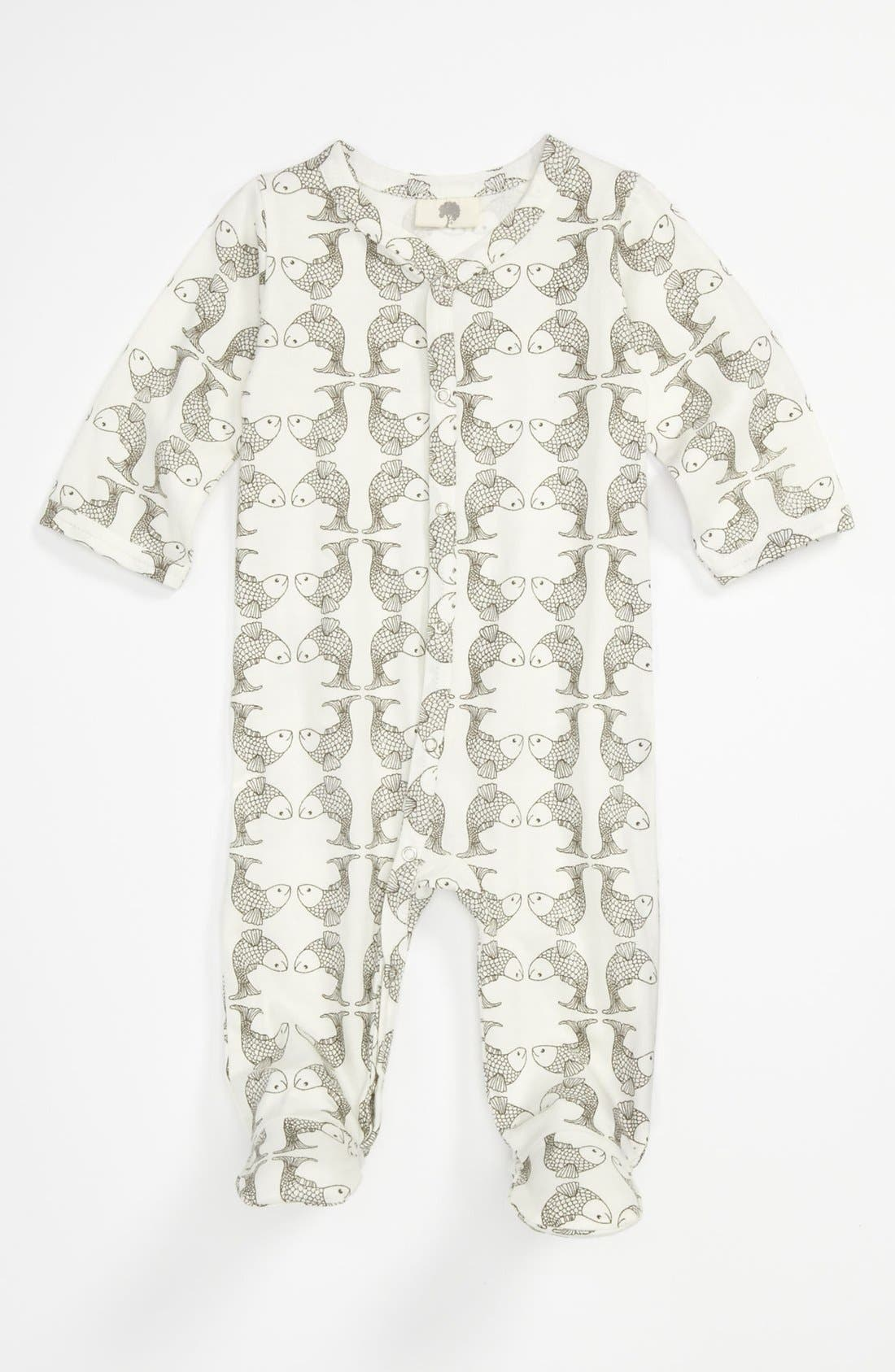 Alternate Image 1 Selected - Kate Quinn Organics Footie (Baby)