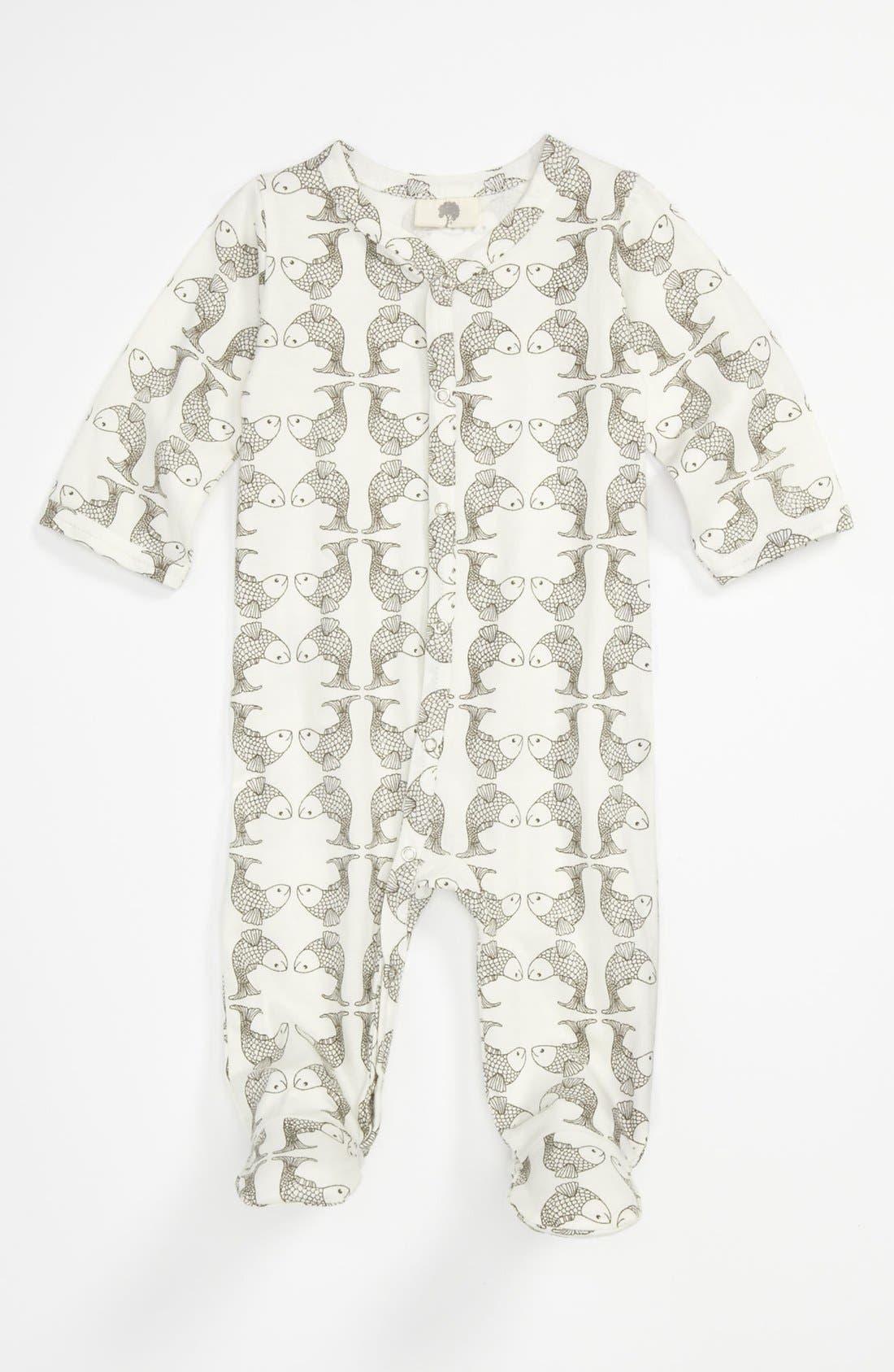 Main Image - Kate Quinn Organics Footie (Baby)