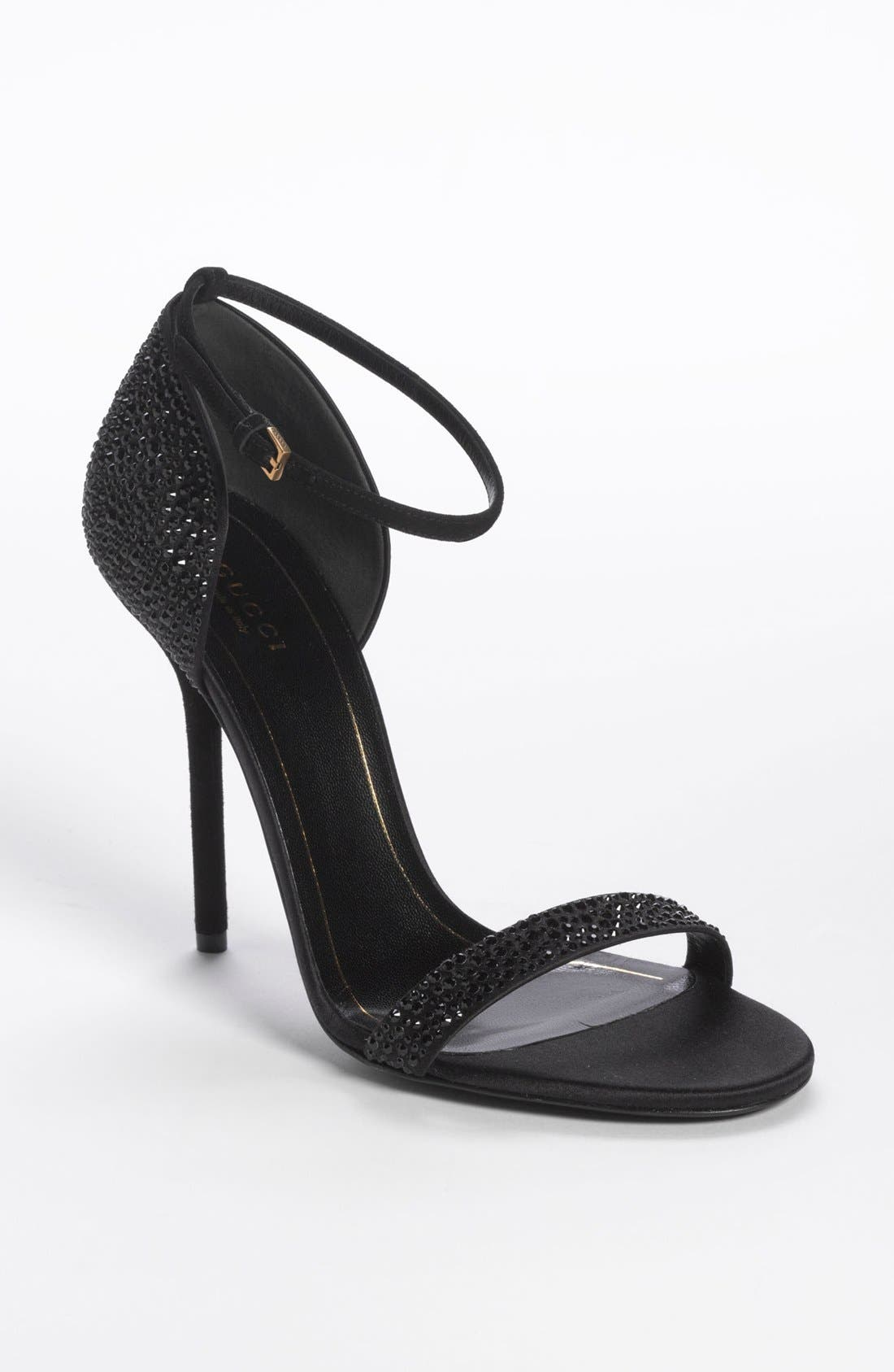 Alternate Image 1 Selected - Gucci 'Noah' Crystal Sandal