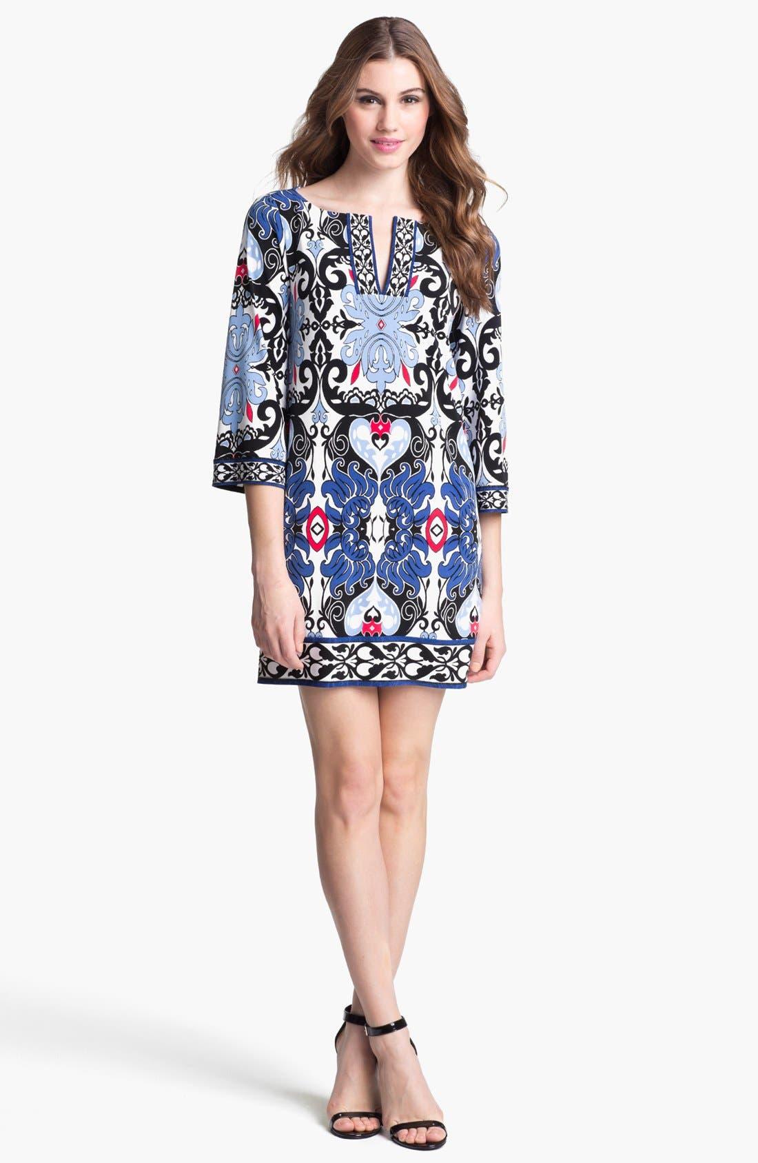 Alternate Image 1  - Laundry by Shelli Segal Print Jersey Shift Dress