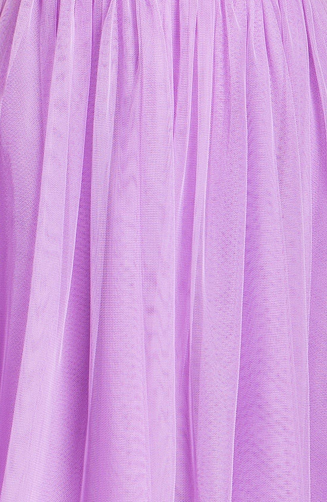 Alternate Image 3  - En Crème Chiffon Skater Dress (Juniors)