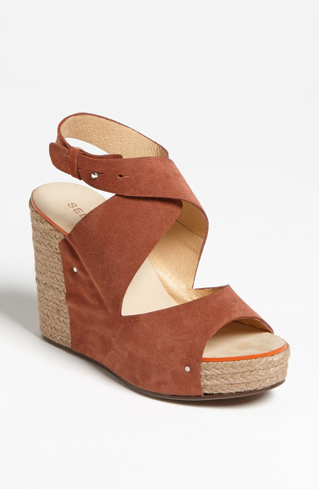 Alternate Image 1 Selected - See by Chloé 'Mica' Wedge Sandal