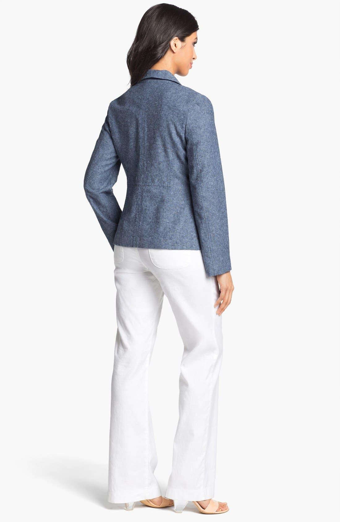 Main Image - NYDJ Short Sleeve Stripe Tee