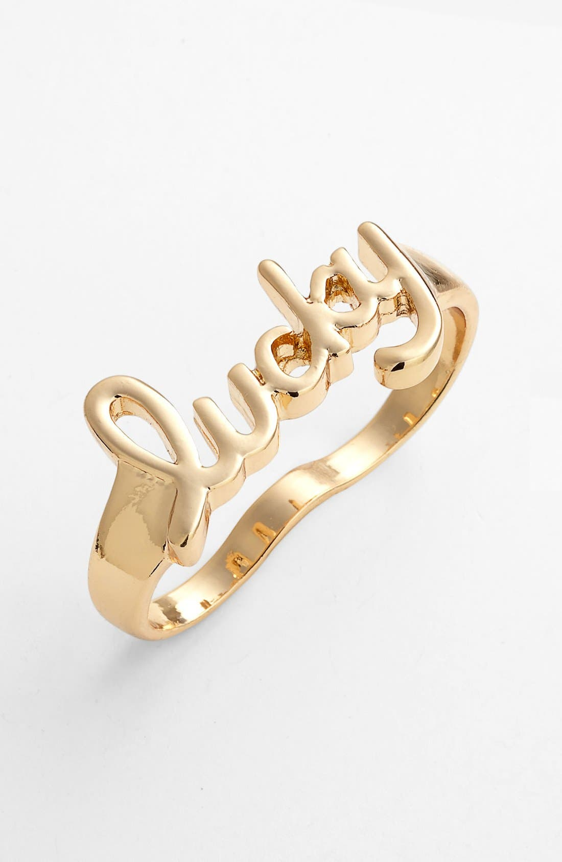 Alternate Image 1 Selected - Jessica Simpson 'Lucky' Double Finger Ring