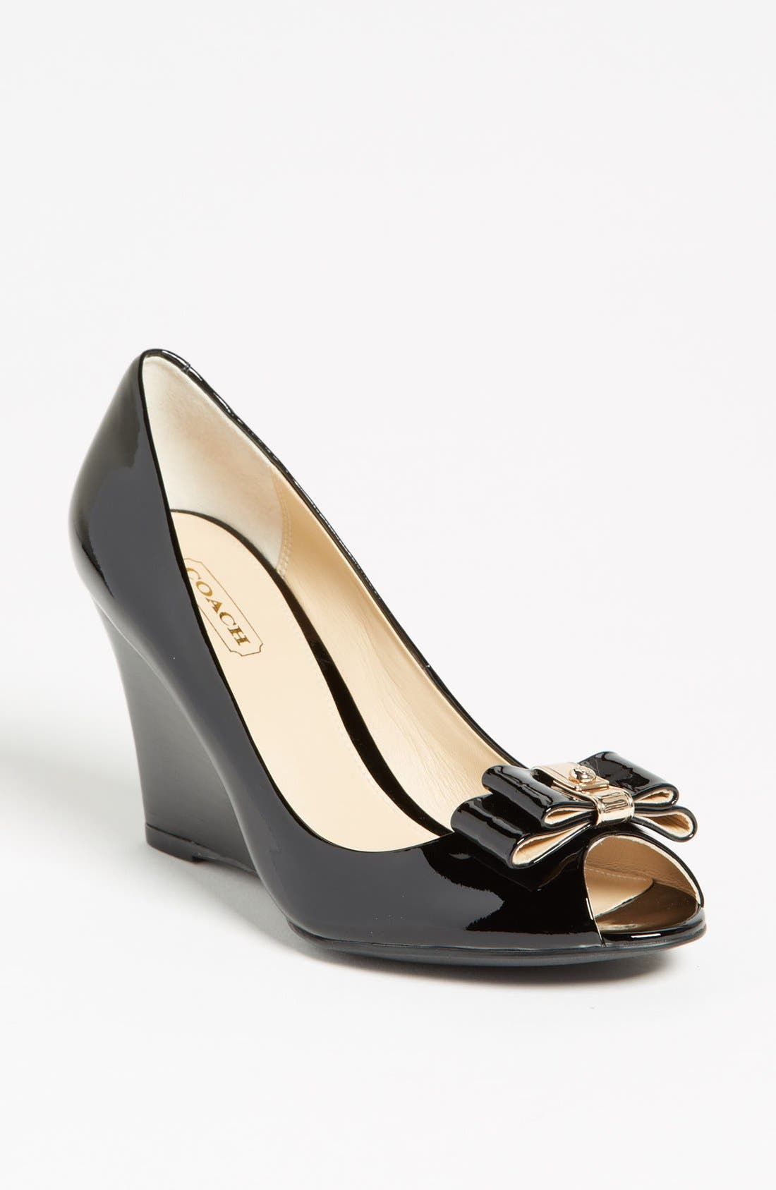 Alternate Image 1 Selected - COACH 'Emma' Pump
