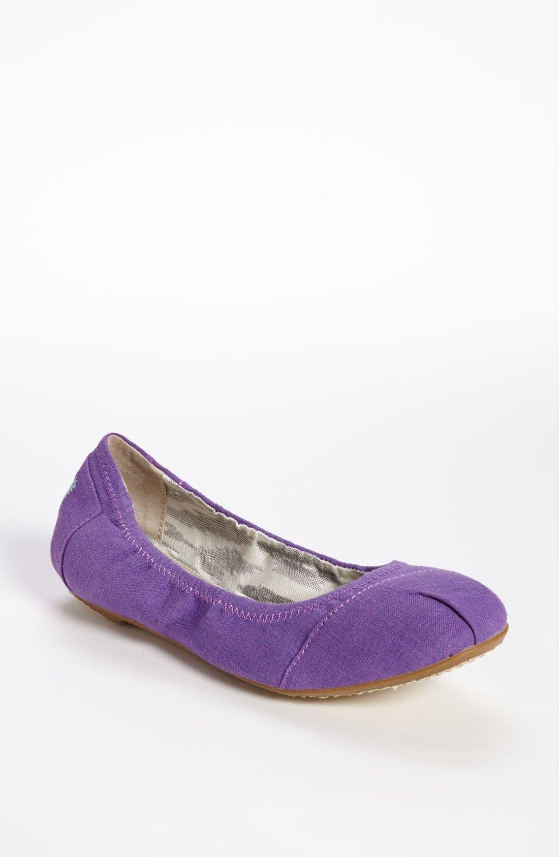 Alternate Image 1 Selected - TOMS Ballet Flat (Women)