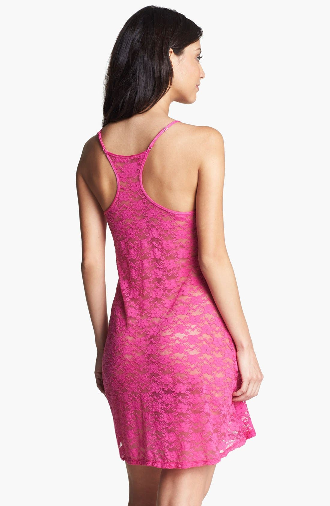 Alternate Image 2  - In Bloom by Jonquil Stretch Lace Chemise
