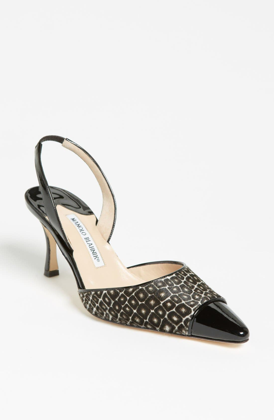 Alternate Image 1 Selected - Manolo Blahnik 'Ploie' Slingback Pump