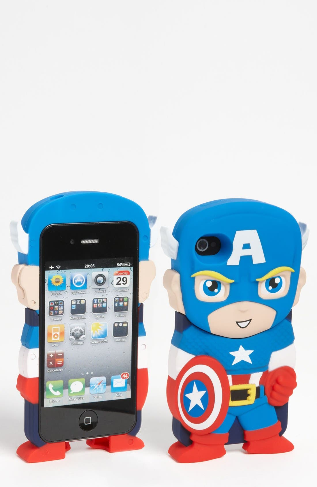 Alternate Image 1 Selected - Marvel 'Chara-Cover - Captain America®' iPhone Case