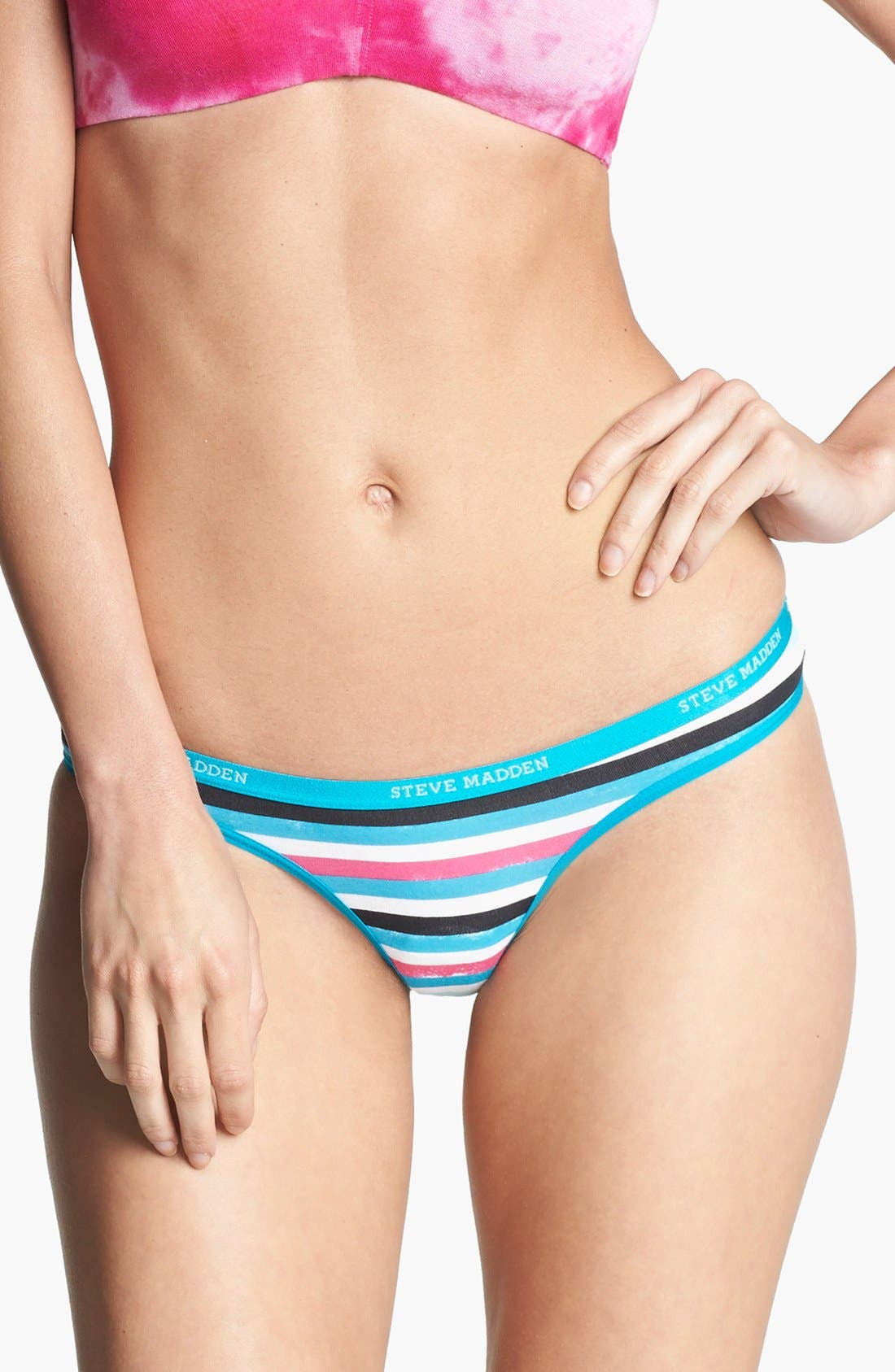 Alternate Image 1 Selected - Steve Madden Signature Thong