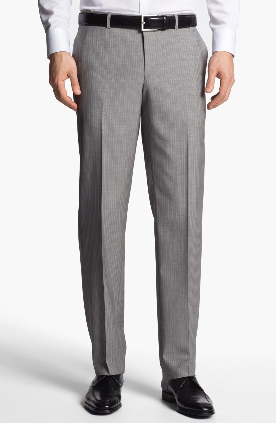 Alternate Image 5  - BOSS HUGO BOSS 'The Sweet/Sharp' Trim Fit Stripe Suit